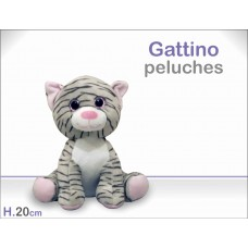 Gattino Peluches 20cm