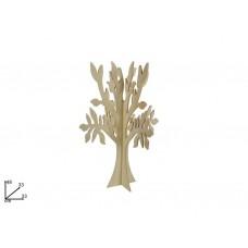 Albero legno tridimensionale 48cm