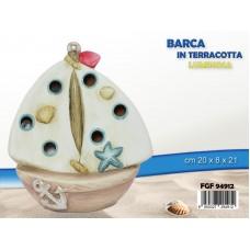 Barca In Terracotta Luminosa