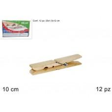 Mollette legno 12pz