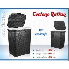 Cestone Rattan nero