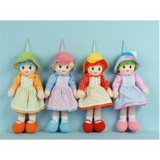 bambola stoffa 40 cm 4 colori