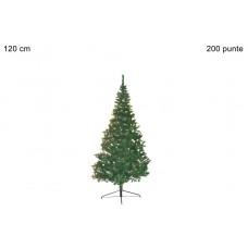albero di natale 120 cm  200 punte