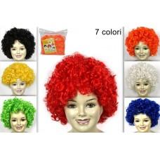 Parrucca Riccia Colorata