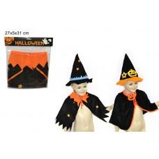 Cappellino halloween con mantello