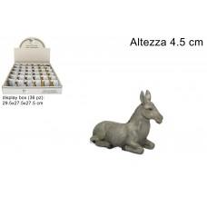 Asinello Presepe 12 cm
