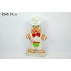 1 omino marzapane cuoco 35 cm
