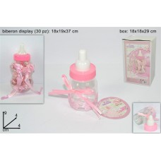 Biberon Plastica Rosa
