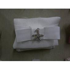 bustina bianca tessuto