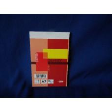 blok notes misura a7 12x7.5 cm