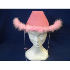 Cappello Texano Rosa