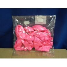 busta 25 palloncini rosa metallizzati